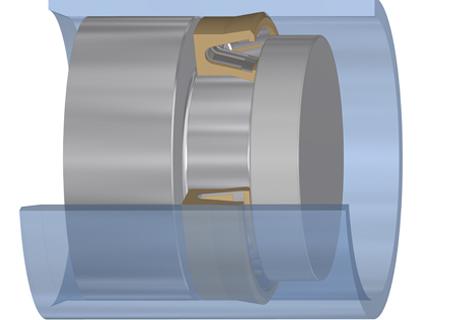 GUARNIZIONI ATP CON MOLLA in acciaio inox